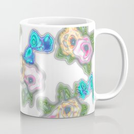 Topography Floral 2 Coffee Mug
