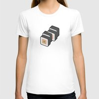 sushi T-shirts featuring Sushi by Paul Goerne