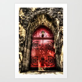 Chapel Doors Color Art Print