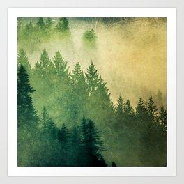 Nature Hike Art Print