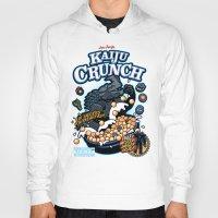 kaiju Hoodies featuring Kaiju Crunch by Matt Dearden