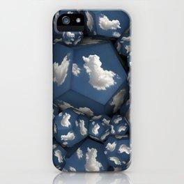 Duck Clouds iPhone Case