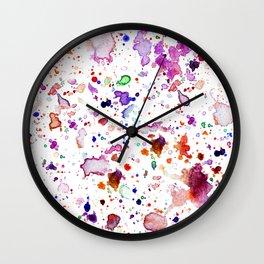Explosions Wall Clock