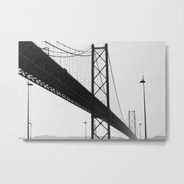 PORTUGAL ... Lisbon - Ponte 25 de Abril I Metal Print