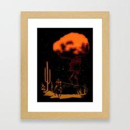 Atomic Cowboy Framed Art Print