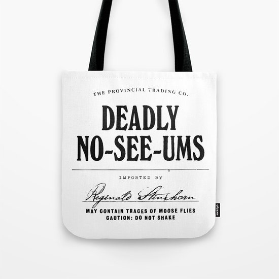 Deadly No-See-Ums Tote Bag