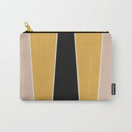 Honey Bee Color Block Carry-All Pouch