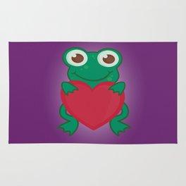 Love Frogs Rug