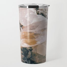 Dreamy Large Quartz Crystals Travel Mug