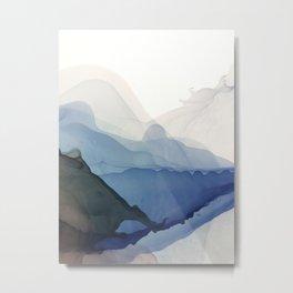 Norewegian fjords Metal Print