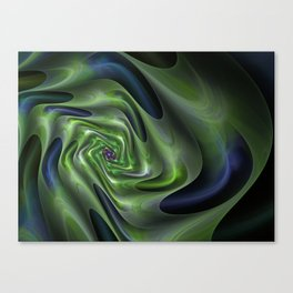 Abstract Labyrinth fractal . Canvas Print