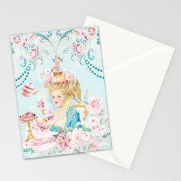Marie Antoinette Hot Tea Stationery Cards