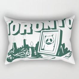 toronto raccoon memorial Rectangular Pillow