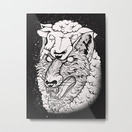 the disguise Metal Print