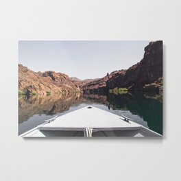 Floating on the Colorado River Metal Print