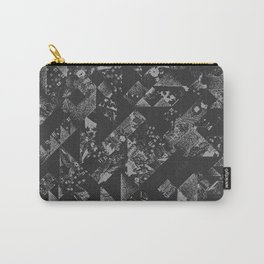 Chirogami Jazz Quilt in Grey Carry-All Pouch