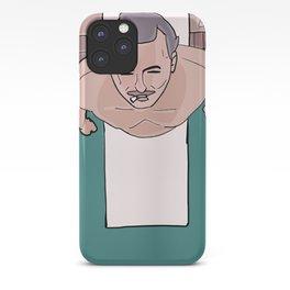 Herman Blume (Bill Murray) on Diving Board (Rushmore) iPhone Case