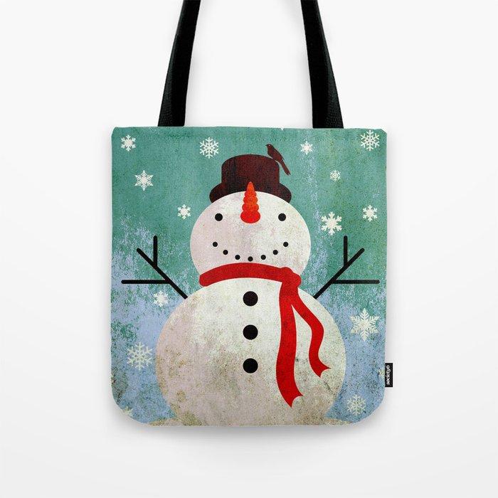 snowpy christmas Tote Bag