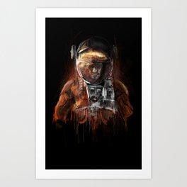 The Martian Art Print