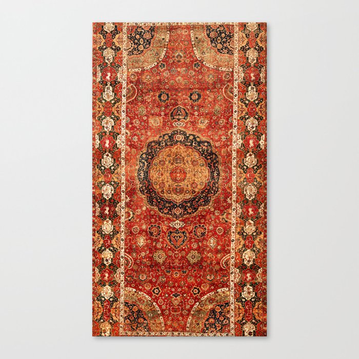 Seley 16th Century Antique Persian Carpet Print Leinwanddruck