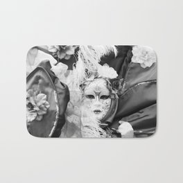 Venetian carnival mask D - Lady Nature Bath Mat