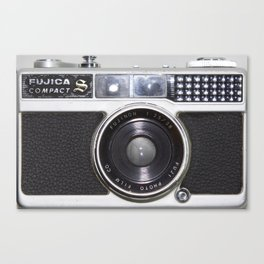 Vintage film camera Fujica Compact 1 Canvas Print