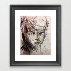 Just A Boy Framed Art Print