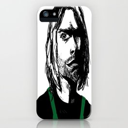 This is the Time Nirvana Got a Job at a Coffee Chain iPhone Case
