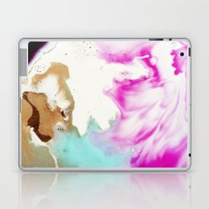 Happiness Ever Abstract Watercolor Painting Laptop & iPad Skin