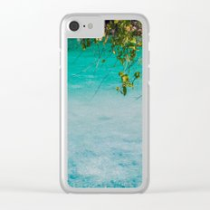 Ripples Clear iPhone Case