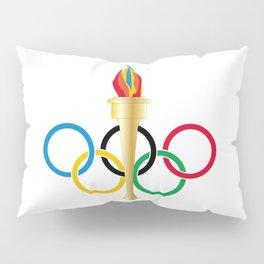 Olympic Rings Pillow Sham