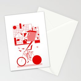 Bicycle I. Stationery Cards