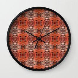 Scarlet Cloister Wall Clock