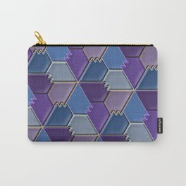 Blues & Purples Carry-All Pouch