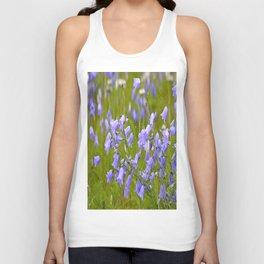 Bluebells Meadow #decor #society6 Unisex Tank Top