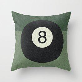 eightball Throw Pillow
