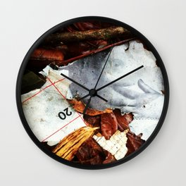 Vintage Yard Porn  Wall Clock