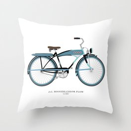Vintage J.C. Higgins Bike Throw Pillow