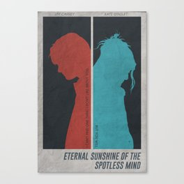 Eternal Sunshine of the Spotless Mind - Poster Canvas Print