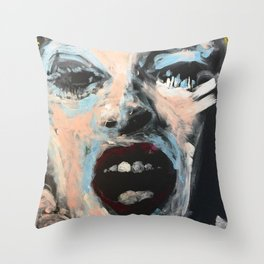 Candy Darling Throw Pillow
