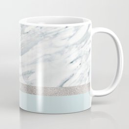 Calacatta verde - silver turquoise Coffee Mug