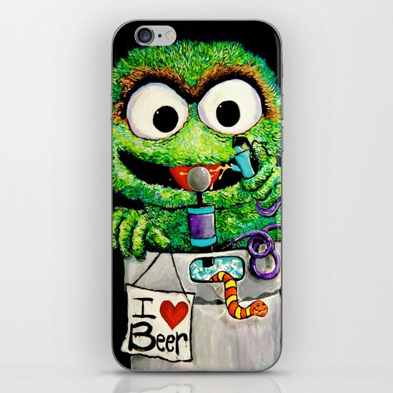THE GROUCH iPhone & iPod Skin