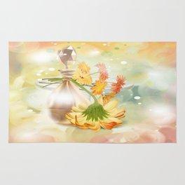 Duft der Blume - farbig Rug