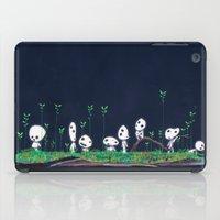kodama iPad Cases featuring Kodama by Jose Campa