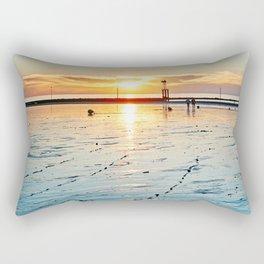 Sunset on the Horizon II Rectangular Pillow