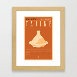 MADE IN MOROCCO #03-THE COOKING POT Framed Art Print