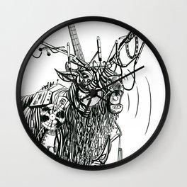 Cable Elk. Wall Clock