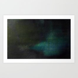 States of summer night warmth: 59°F Art Print
