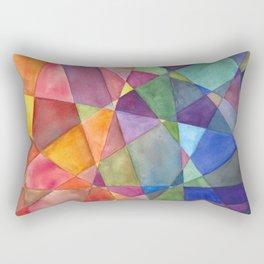 Warm and Cool Rectangular Pillow