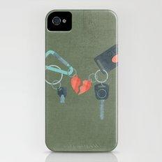 Star-Crossed Lovers Slim Case iPhone (4, 4s)
